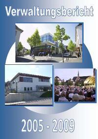 Cover des Verwaltungsberichtes