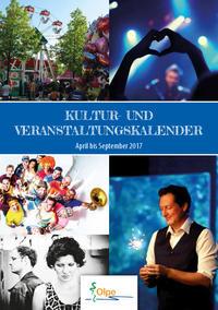 Kultur- und Veranstaltungskalender Herbst 2016