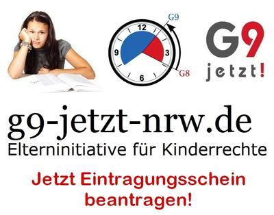 Antrag Eintragungsscheine Volksbegehren G9