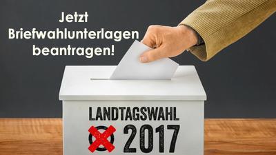 Online - Wahlscheinantrag zur Landtagswahl