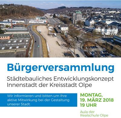 Pressemitteilung der Kreisstadt Olpe - Städtebauliches Entwicklungskonzept Innenstadt